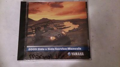 Buy 05 Yamaha Side x Side PC Disc Service Manual *NEW* motorcycle in Richlandtown, Pennsylvania, US, for US $19.99