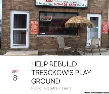 Help ReBuild Tresckow s Playground