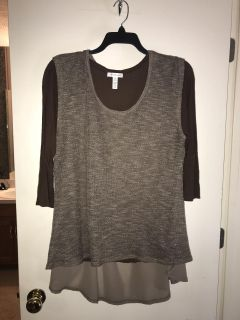 2 pc Brown Shirt from Forever 21 size 2X