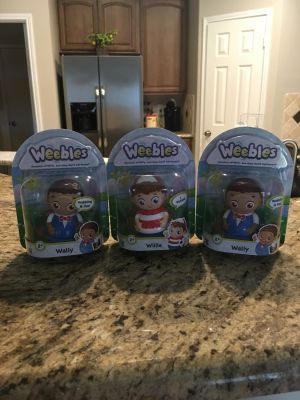 Weebles Wally & Willie