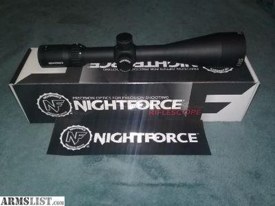 For Sale/Trade: Nightforce SHV 4x14x56