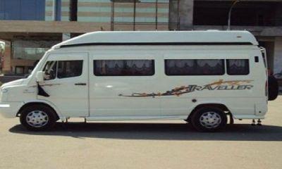 Book online Ac Tempo Traveller Hire service in Delhi NCR
