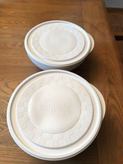 2 Pampered Chef Chillzanne Bowls