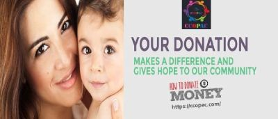 Donate at the ccopac organization and save the lives of many children