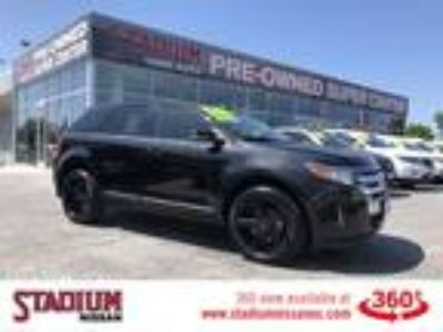 Used 2014 Ford Edge Black, 94.7K miles