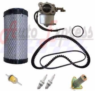 Purchase EZGO TXT ST350 Gas Golf Cart Tune Up Kit 96-up Carburetor Drive Starter Belt motorcycle in Lapeer, Michigan, United States, for US $61.95