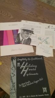 Signed Guy Lombardo Collectibles