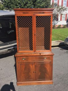 Hutch with shelves (glass and wooden for your preference) and storage space and drawer with light china cabinet kitchen dining