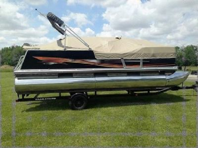 ? ? >> ? ?1999 Tracker marine Party barge 21