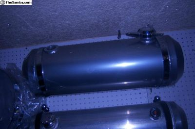 10x30powdercoated near chrome custom tank.