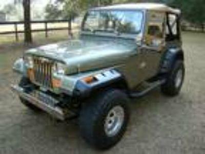 1988 Jeep Wrangler YJ Chevrolet ZZ4 V8 Automatic AC