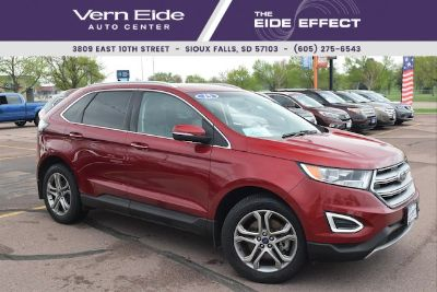 2015 Ford Edge Titanium (Ruby Red Metallic Tinted Clearcoat)