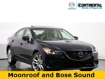 2017 Mazda Mazda6 Touring (Deep Crystal Blue Mica)