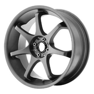 "Buy 18"" WHEELS RIMS MOTEGI MR125 GRAY TC IMPREZA COROLLA motorcycle in Addison, Illinois, US, for US $639.00"