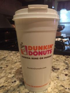 Dunkin Donuts brand new cup