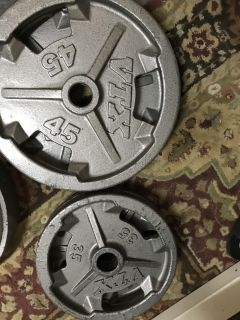 160lbs VTX olympic weights