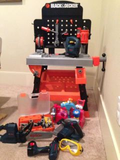 Black & Decker Work Bench and Tons of Tools!