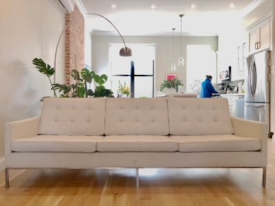 Florence Knoll style mid-century sofa