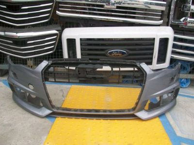 Find 2015 2016 AUDI A6 S-LINE S6 FRONT BUMPER OEM 4G0 807 437 AB motorcycle in San Pedro, California, United States, for US $350.00