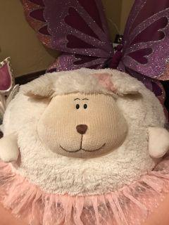 Giant stuffed lamb