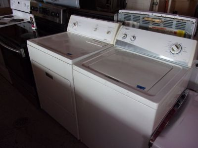 Amana Washer and Kenmore Dryer Set