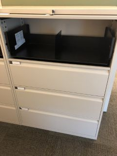 4' High File Cabinets