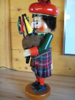 "$100 Price Reduced!! Steinbach Nutcracker ""Big Dudel Sack-Pfeiffer"""
