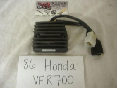 Sell 86-87 Honda VFR-700 Rectifier/Voltage regulator. Good Used OEM motorcycle in Terrell, Texas, US, for US $49.95