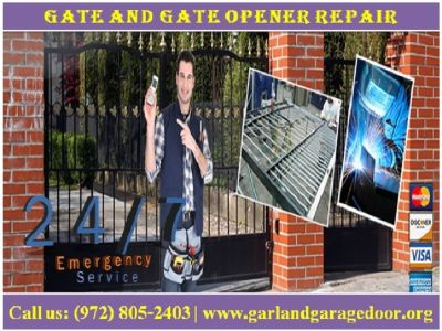 Provide the Gate Opener Repair Services with Affordable Prices in Garland, TX