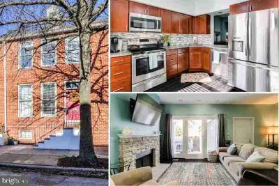 802 S Sharp St BALTIMORE Three BR, Move right in & relax by the