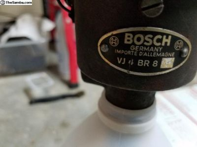 Used,Bosch VJ 4 BR 8 distributor, July of 1955