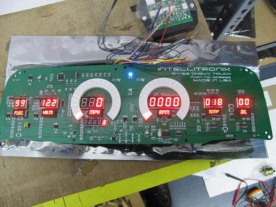 Find Chevy Truck DIGITAL DASH PANEL FOR 1964-1966 Gauges GMC Intellitronix RED LEDs!! motorcycle in Eastlake, Ohio, United States