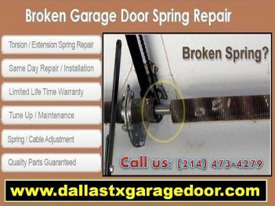 No.1 Garage Door Spring Repair Company in Dallas