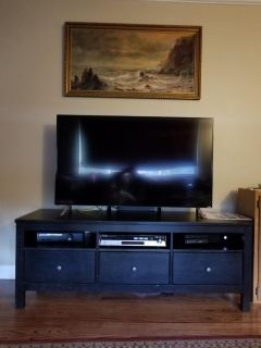 TV stand & TWO bookcases IKEA HEMNES