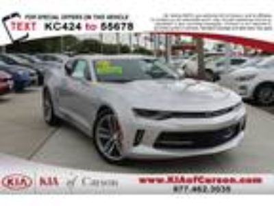 Used 2016 Chevrolet Camaro Silver Ice Metallic, 33.5K miles