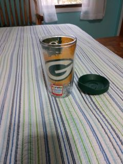 New Tervis Tumbler 16 oz with lid Green Bay Packers