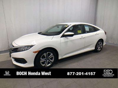 Used 2016 Honda Civic 4dr CVT