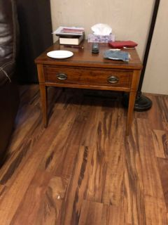 Two lane end tables