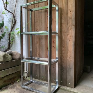 Space Age Sliver Etagere