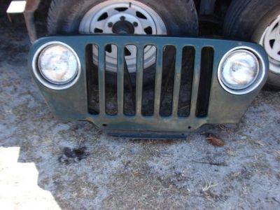 Buy 1999, Jeep TJ Grill, complete with lights with no damage and no rust motorcycle in Ormond Beach, Florida, United States