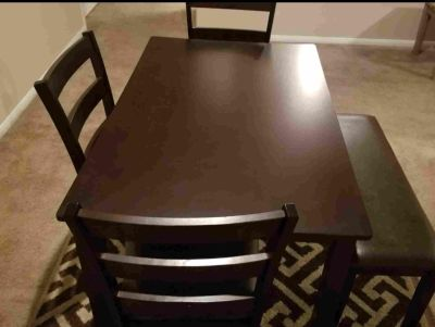 2 Dining tables and 3-piece sectional