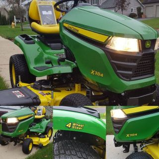 2017 John Deer X384 All wheel steer. 48""