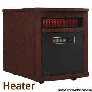 Electric Edger Black & Decker or. Electric Space Heater