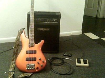 Bass Guitar + Amp (West Chester, pa)