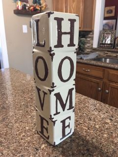 Decorative accent piece. 15 tall
