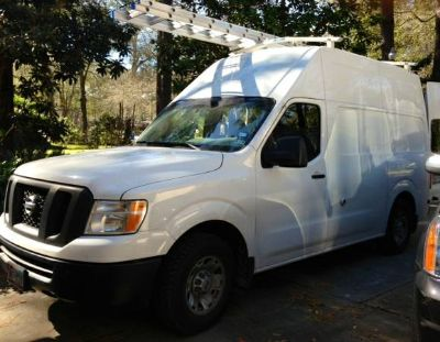 2012 Hightop Nissan NV 2500 S Cargo Van V8