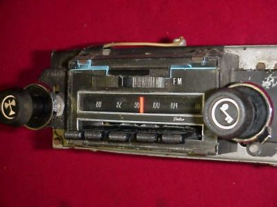 Purchase 71 72 73 74 75 76 CHEVY CHEVELLE NOVA IMPALA AM FM RADIO PLAYS GREAT SS 454 396 motorcycle in Fort Wayne, Indiana, United States, for US $179.95
