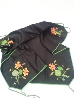 32 x 32 Hand painted Table Cloth