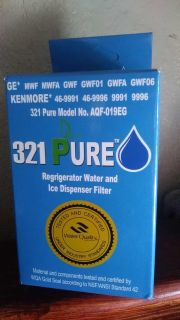 Refrigerator water and ice dispenser filter