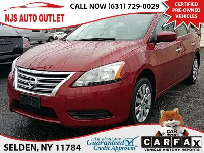 2014 Nissan Sentra S (Red Brick)